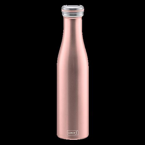 Isolier-Flasche Edelstahl 0,75l rosegold