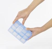 Vorschau: Eiswürfelbereiter Würfel Whisky 4x4cm eisblau